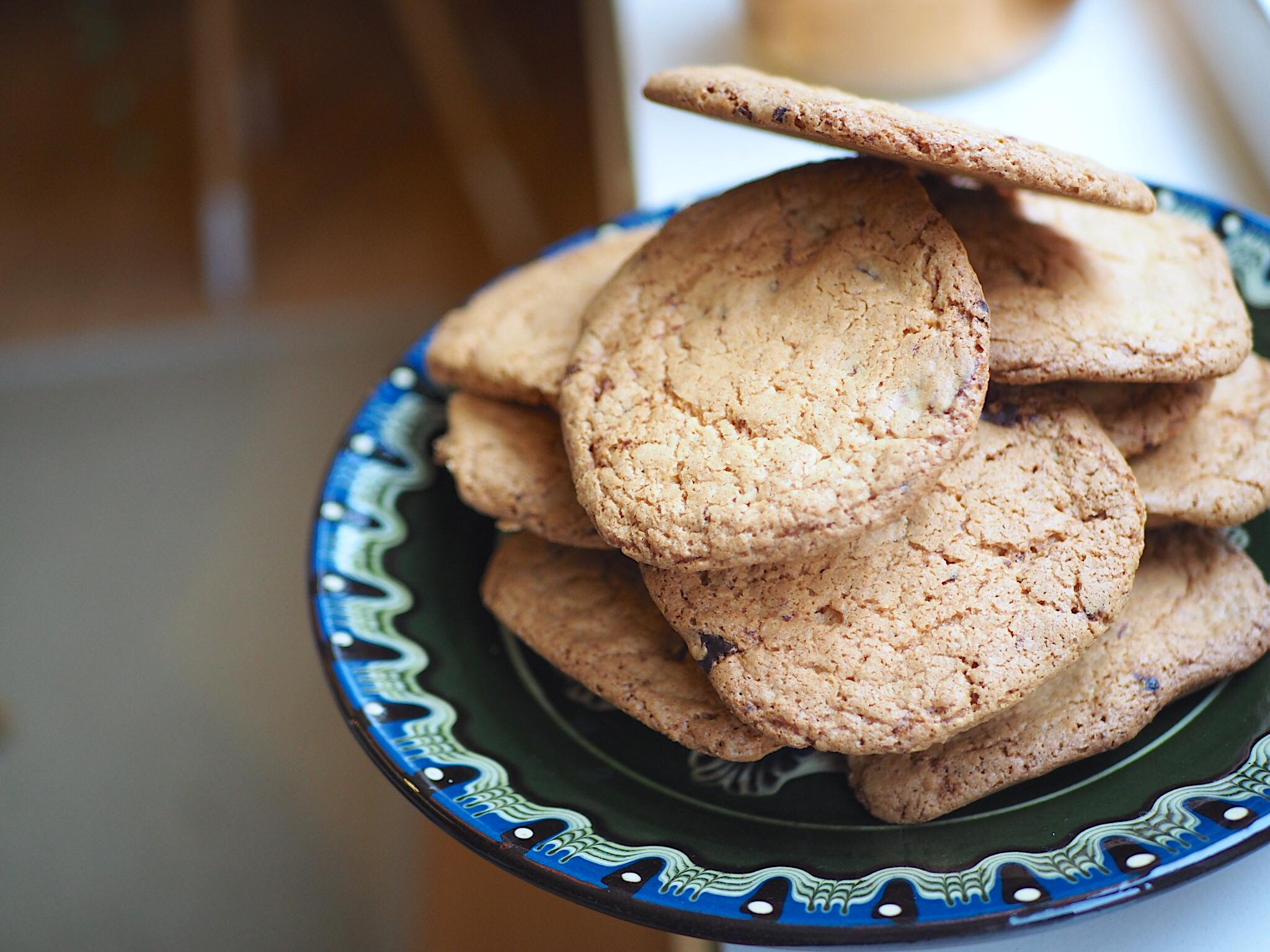 Glutenvrije chocolat chip cookies