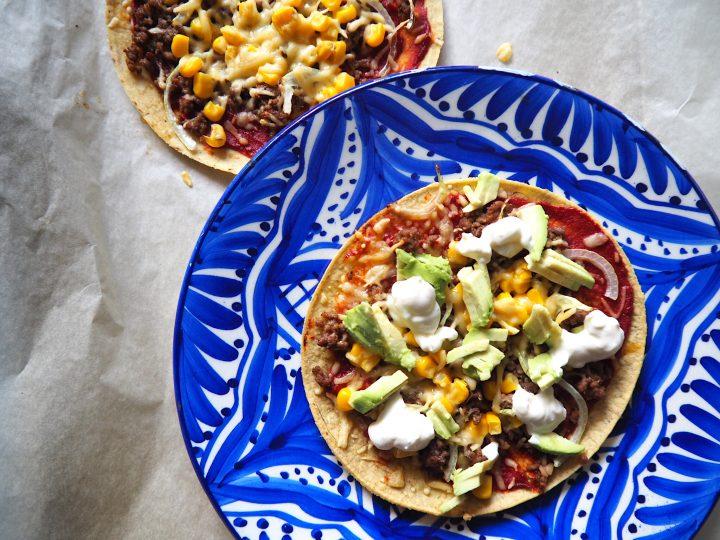Glutenvrije Mexicaanse pizza met Taiyari