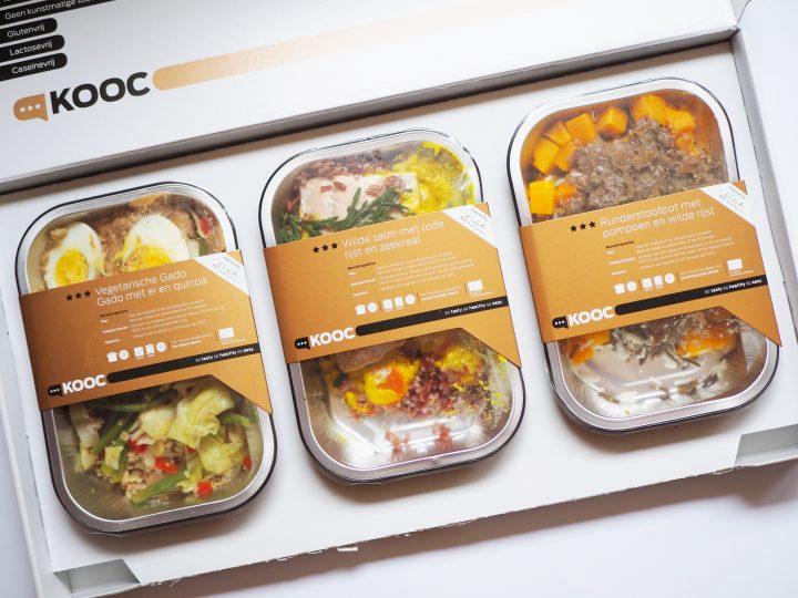 Review: Glutenvrije Kooc maaltijden