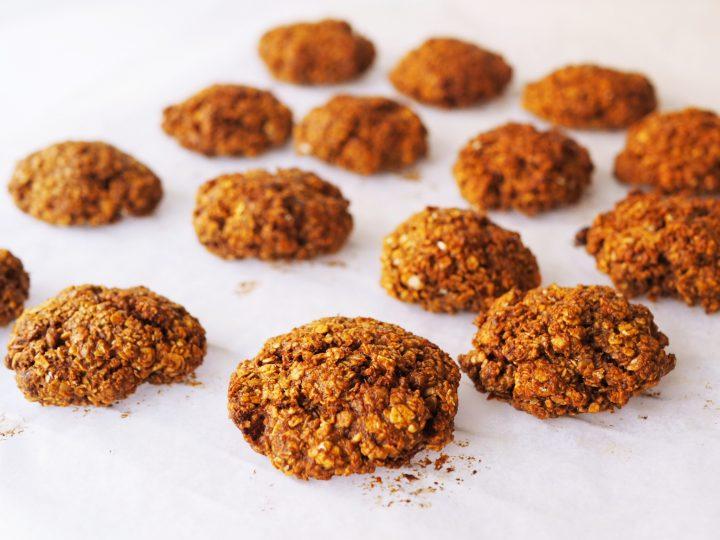 Glutenvrije nutellakoekjes met havermout