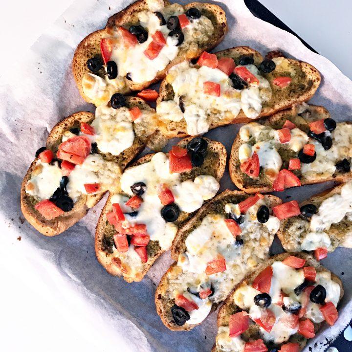 Glutenvrije bruschetta