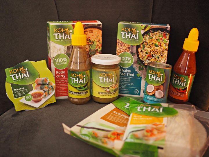 Win een glutenvrij Koh Thai pakket met 9 producten!
