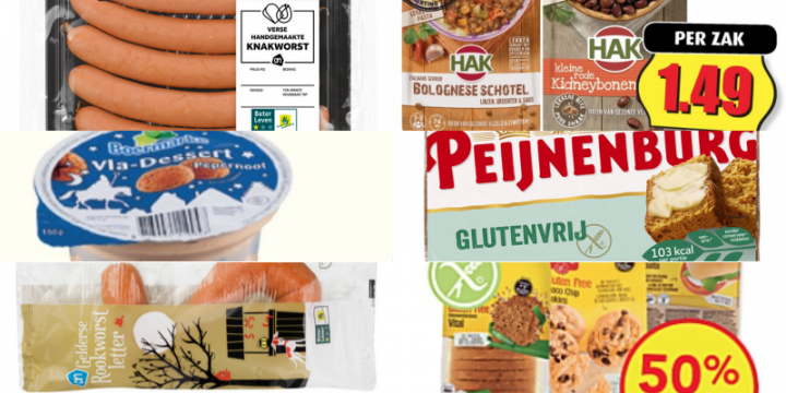 Glutenvrije aanbiedingen week 48