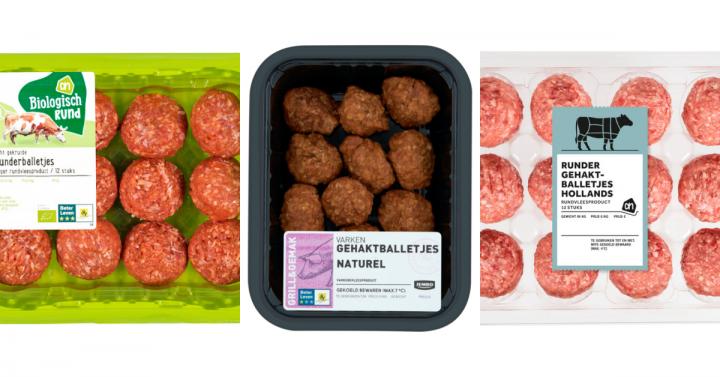 11 x Kant-en-klare glutenvrije gehaktballetjes