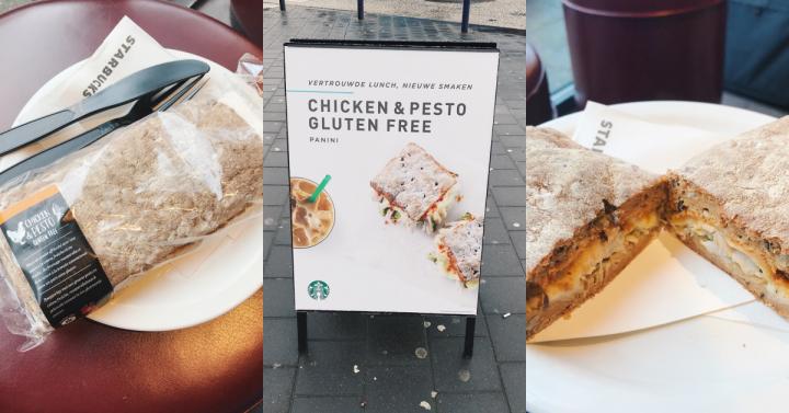 Dit vind ik van de glutenvrije panini bij Starbucks