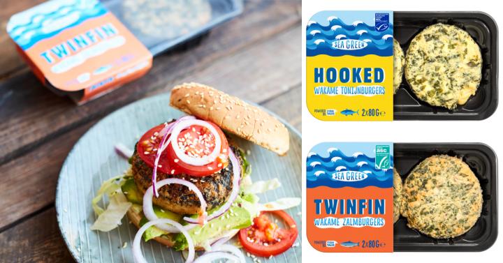 Deze visburgers van Sea Green zijn glutenvrij!