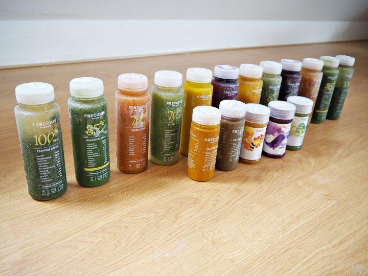 Frecious review: 2 weken lang een groentesapje per dag