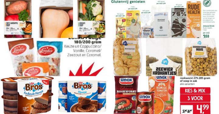 Glutenvrije aanbiedingen week 39 2018