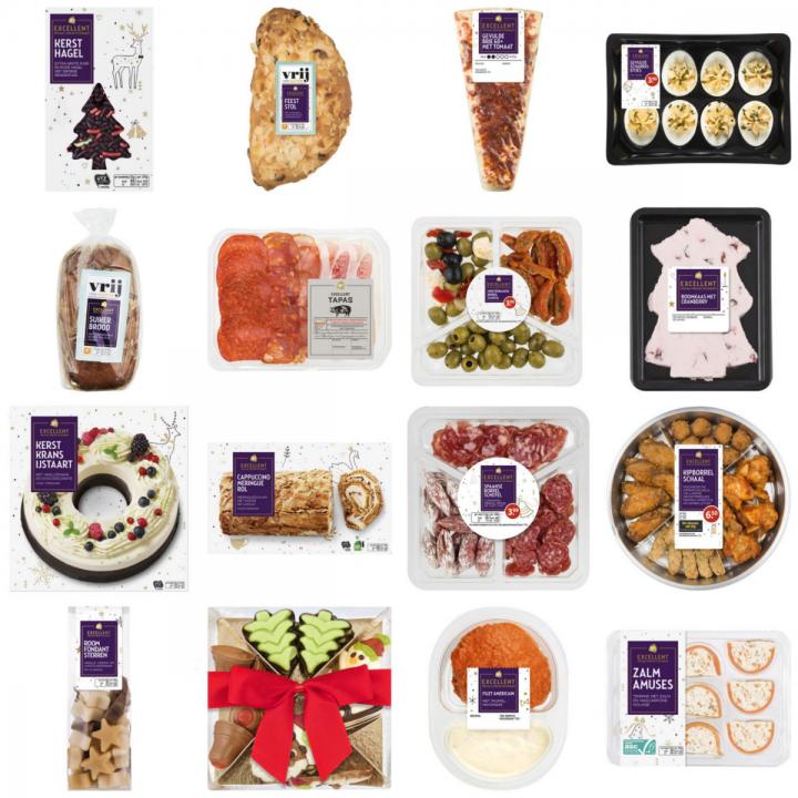 Glutenvrije AH Excellent kerstproducten