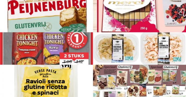 Glutenvrije aanbiedingen week 6 2019
