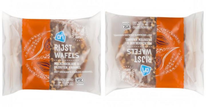 NIEUW & GLUTENVRIJ: rijstwafels melkchocolade & gezouten karamel