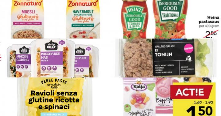 Glutenvrije aanbiedingen week 19 2019