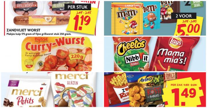Glutenvrije aanbiedingen week 39 2019