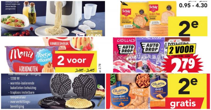 Glutenvrije aanbiedingen week 47 2019
