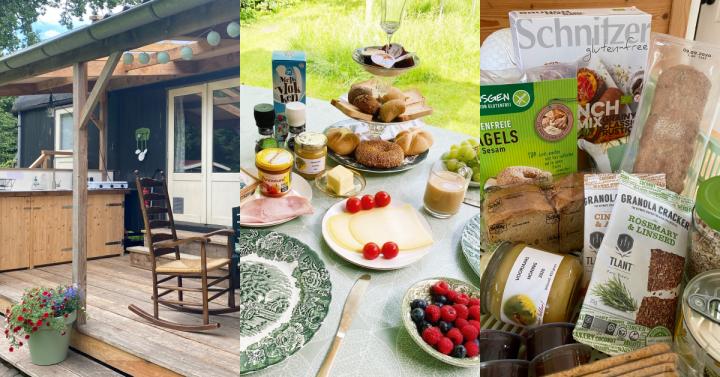 Glutenvrije B&B De Wolderwagen: nu met buitenkeuken en veranda