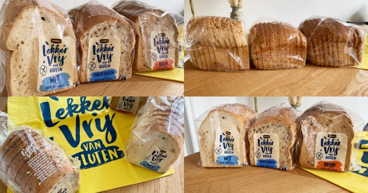 NIEUW: vers glutenvrij brood bij Jumbo